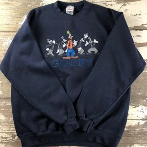 VINTAGE DISNEY GOOFY CREWNECK SWEATER